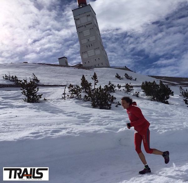 Ergysport Trail du Ventoux 2016 - Anne Lise Rousset