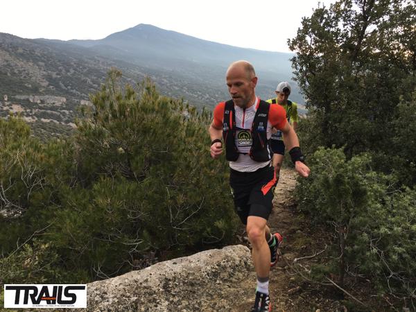 Ergysport Trail du Ventoux 2016 - Fred Bousseau - passage corniche