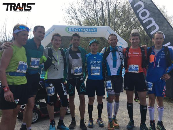 Ergysport Trail du Ventoux 2016 - Fred Bousseau - podium hommes