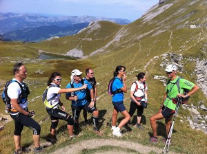 Stage Trail en montagne