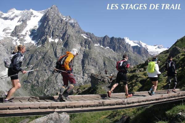 Stage trails UTMB