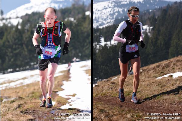 Trail du Petit BAllon 2016 - Clement Posecak et Jasmin Nunige