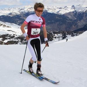 Laetitia Roux , vainqueur X3 Courchevel 2015