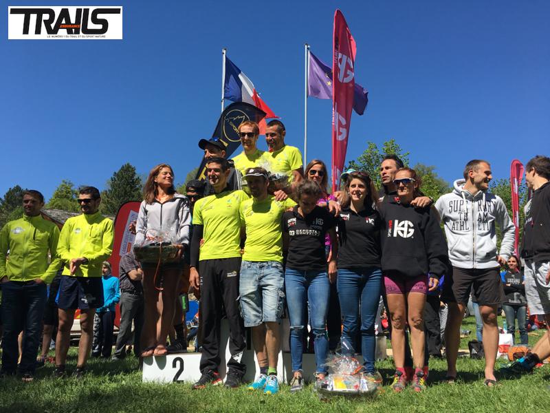 Lozere Trail 2016 - Fred Bousseau - challenge des Teams et clubs 2016