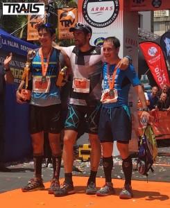 Photos Transvulcania 2016 - Fred Bousseau - podium hommes