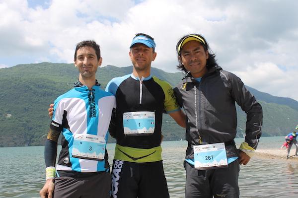 Podium hommes Interlac Trail 2016