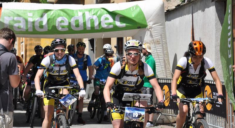 Raid Edhec - depart