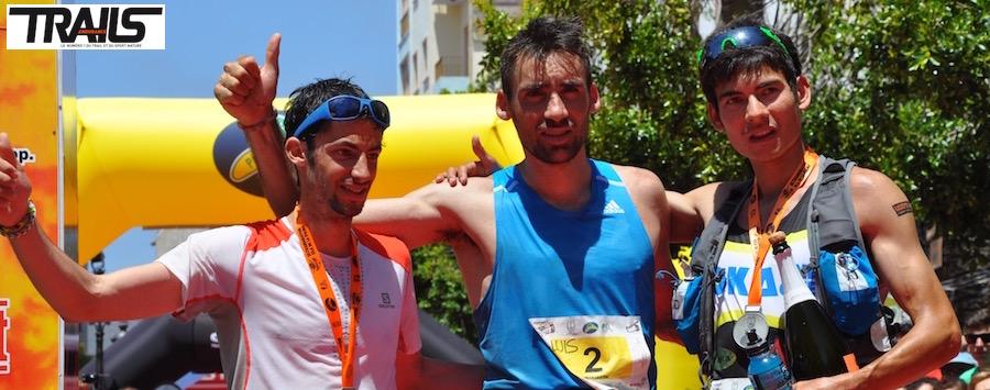 Tranvulcania - podium hommes 2014
