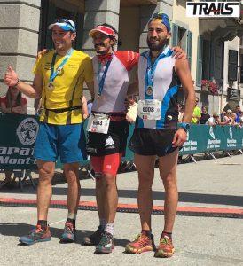 80km du Mont-Blanc 2016-podium hommes