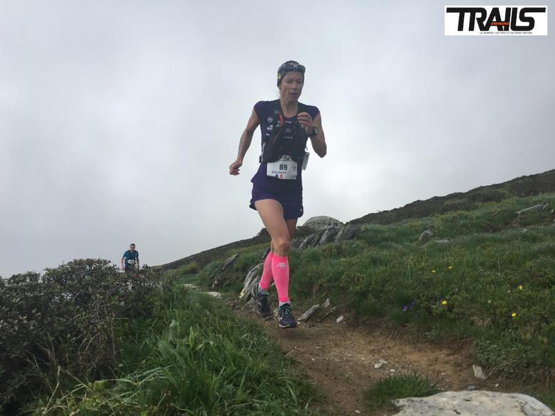 Photos Marathon du Mont-Blanc 2016 - Fred Bousseau - Stephanie Duc