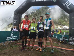 Photos Marathon du Mont-Blanc 2016 - Fred Bousseau - podiums hommes