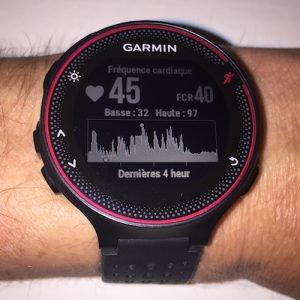 Test Garmin 235 - cardio