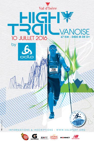 affiche High Trail Vanoise 2016