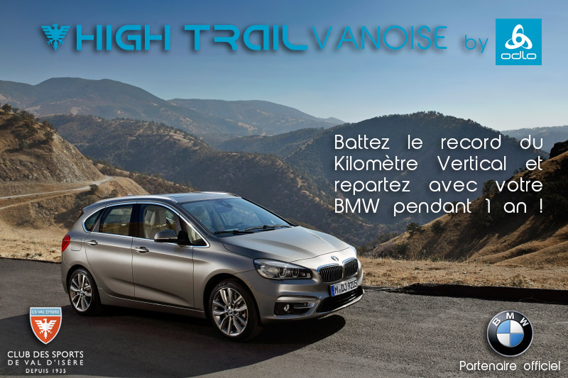 bmw + high Trail Vanoise 2016