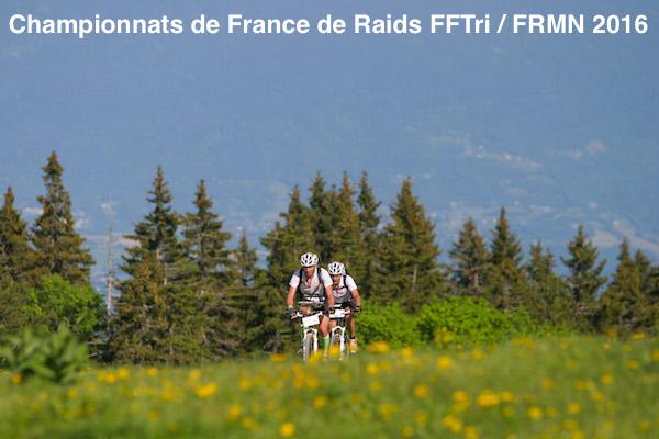Championnats de France de Raids FFTri / FRMN 2016