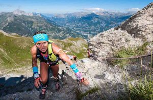 Amandine Ferrato 1ere 42 km du Trail Ubaye Salomon 2016 photo Remi Morel
