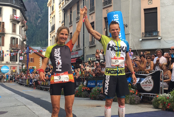 Caroline Chaverot et Ludovic Pommeret vainqueurs UTMB 2016