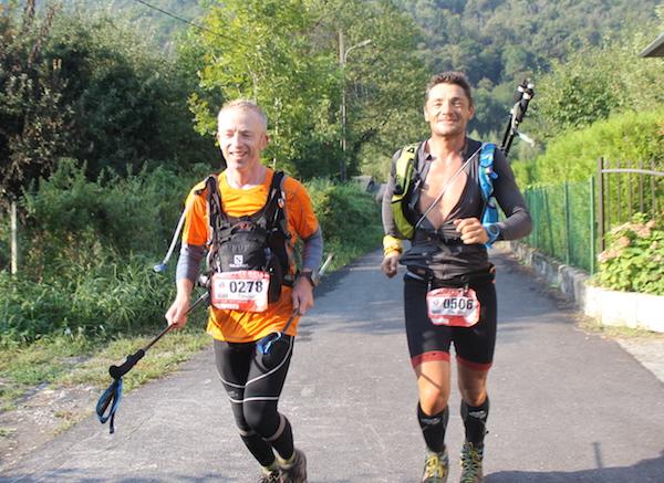 Frédéric Wuhurmann et Olivier Lalouette finischers du 144km