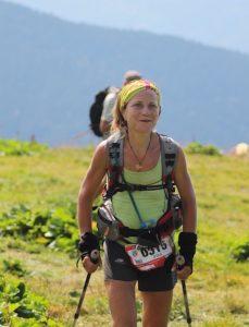 Irina MAlejonock 2eme à Val Pelouse - Echappée Belle 2016