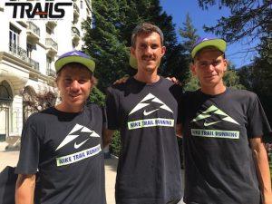 UTMB 2016 - Zach Miller, David Laney et Tim Tollefson sur UTMB