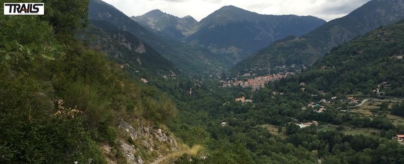 Championnats de Francede Trail 2016 - Descente vers Saint MArtin Vesubie
