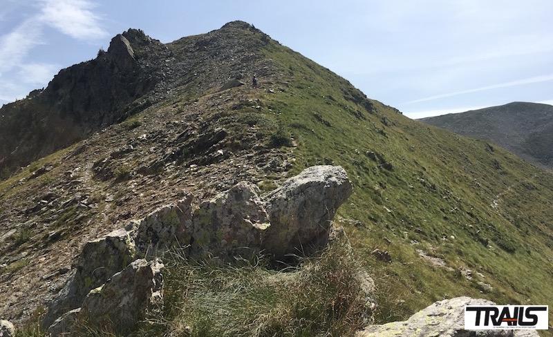 Championnats de Francede Trail 2016 - montee vers Mont Archas