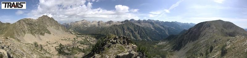 Championnats de Francede Trail 2016 - vue depuis Mont Archas