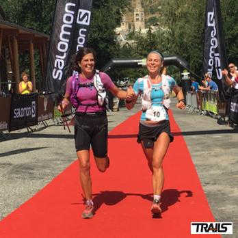 Serre Che Trail Salomon 2016 - Fred Bousseau - Christel Bard et Delphine Roux