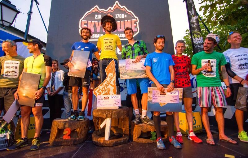 Skyrhune - podium hommes 2016