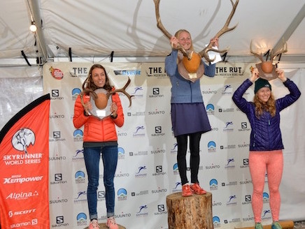 The Rut 2016 - podium dames