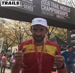 Championnats du Monde de Trail 2016 - Fred Bousseau - Luis Alberto Hernando
