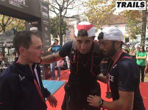Championnats du Monde de Trail 2016 - Fred Bousseau - Nicolas Martin, Sylvain Court et Benoit Cori