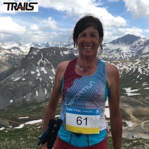 Corinne Favre a Val d'Isere