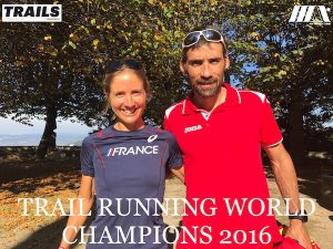 Luis Alberto Hernado et Caroline Chaverot Champions du Monde de Trail 2016