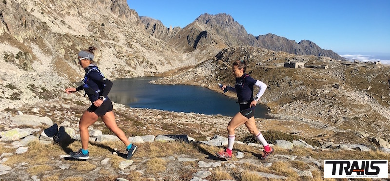 Maud Gobert et Nathalie Mauclair - Equipe de France de Trail 2016