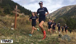 Seance au seuil - Equipe de France de Trail 2016