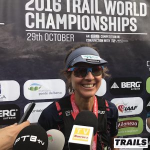 Caroline Chaverot - Trail World Championship 2016
