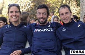 Caroline Chaverot sylvain Court - Nicolas Martin - Trail World Championship 2016