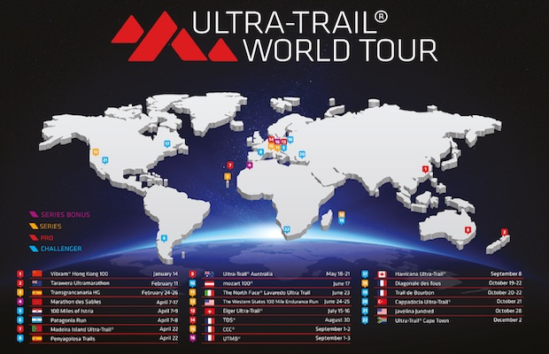 UTWT - Ultra Trail World Tour 2017