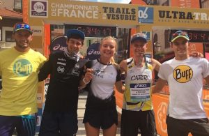 Buff France team : Hoka : Les Saisies - France de Trail 2016
