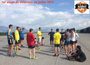 Trail Academy 2013 - stage de detection