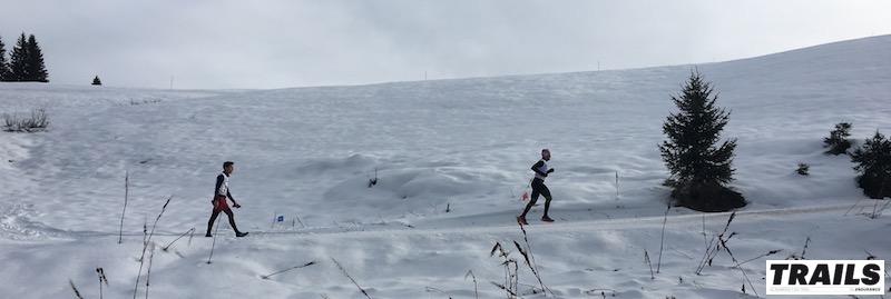 Les trails sur neige et trails blancs 2017