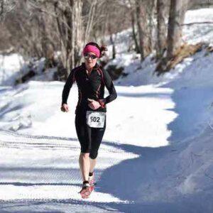 Laetitia Dardanelli vainqueur 9 km photo JMK Consult