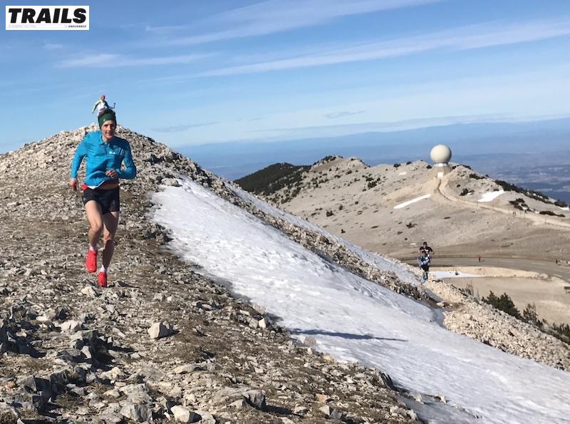 Photos Trail du Ventoux 2017- Fred Bousseau - Marc Lauenstein au sommet