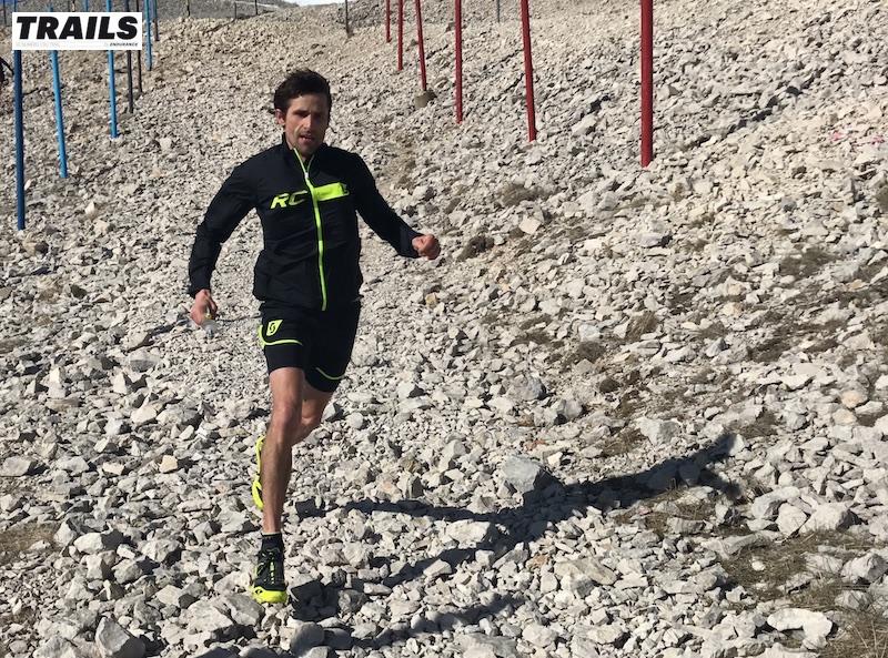 Photos Trail du Ventoux 2017- Fred Bousseau - adrien Michaud au sommet