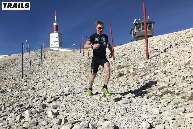 Photos Trail du Ventoux 2017- Fred Bousseau - Seb Camus au sommet