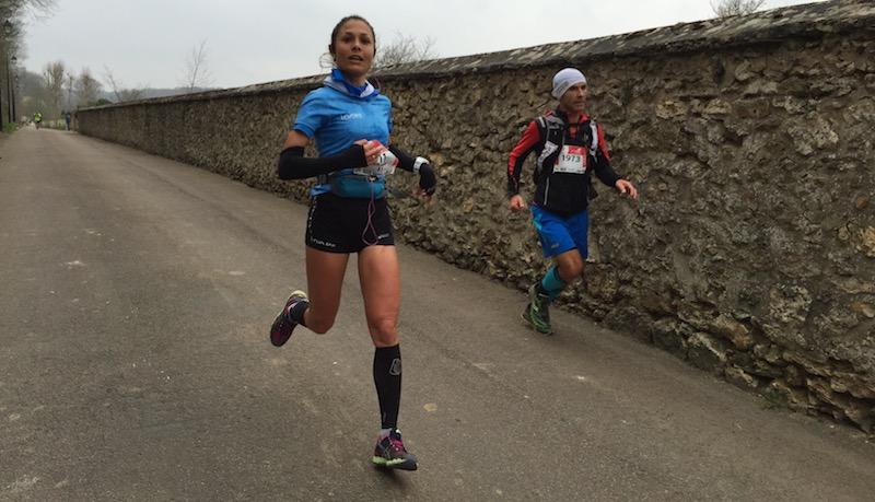 Sylvaine Cussot - vainqueur Ecotrail 2016