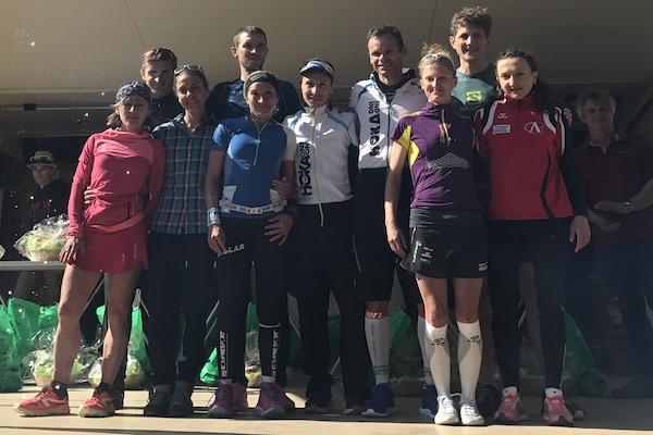 Trail du Ventoux 2017 - podiums