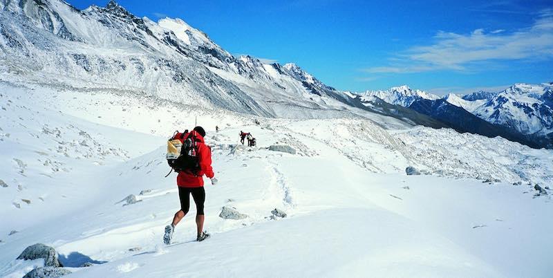 Great Himal Race 2017 - passage sur neige