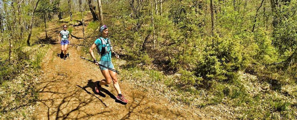 Trail Nivolet Revard 2017 - MAud Gobert et Marie Dohin